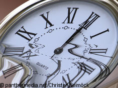 Photo: Clock with roman numeral