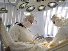Photo: Surgery team during operation