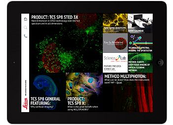 "Leica Microsystems' ""Confocal"" app offers interesting and helpful articles on confocal technologies and methodologies as well as products."