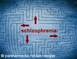 Graphic: A labyrinth marked with schizophrenia