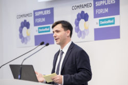 Foto: Speaker at COMPAMED SUPPLIERS FORUM