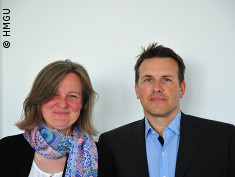Photo: Dr. Claudia Staab-Weijnitz and Prof. Oliver Eicke