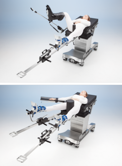 orthopedic surgery, traction, trauma surgery, surgical table