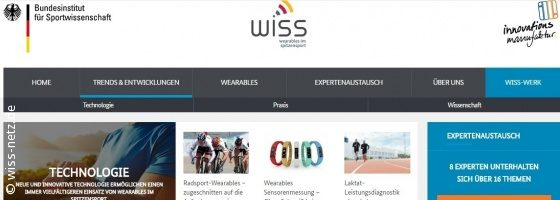 Image: Screenshot from the webportal WISS; Copyright: wiss-netz.de