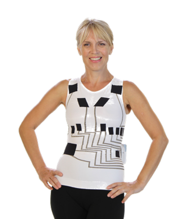 The HealthWatch ECG-sensing garment, hWear™