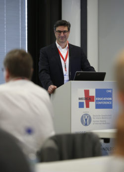 Image: Speech at MEDICA EDUCATION CONFERENCE