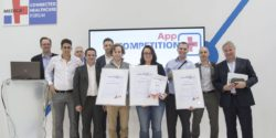 Image: The participants of the MEDICA App COMPETITION; Copyright: Messe Düsseldorf