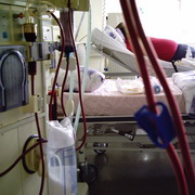 Photo: Dialysis machine