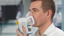 Image: breath test for multiple cancers; Copyright: Owlstone Medical Ltd