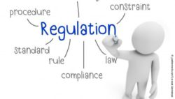 "Image: A 3D stick figure creates a mind map about ""regulation""; Copyright: panthermedia.net/aiemsinsuk"