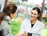 Photo: Woman and pharmacist