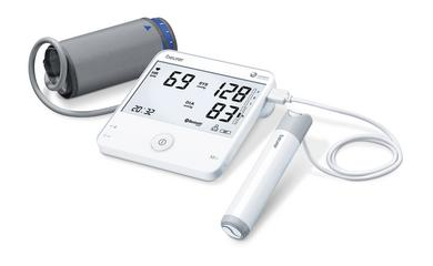 Innovative blood pressure monitor with ECG function