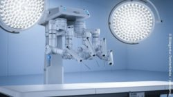 Image: robotic system for assistance in surgery; Copyright: panthermedia.net/phonlamai