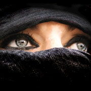 Photo: Woman with a veil