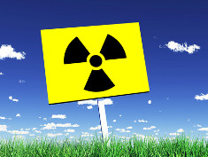 Shidl with symbol for radioactivity