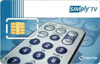 SIM-card (Photo: Sagem Orga)