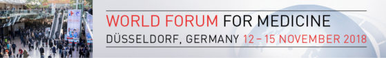 image: 12 - 15 November 2018, MEDICA - World Forum for Medicine in Düsseldorf