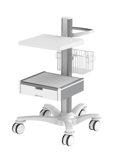 CIM med Cart console with drawer