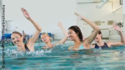 Photo: Group of women during aqua aerobics