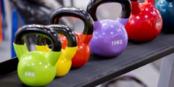 Photo: Therapeutic excercise weights in many different colors