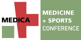 Graphic: Logo of MEDICA MEDICINE AND SPORTS CONFERENCE