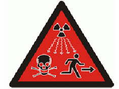 The new supplymentary radiation warning symbol