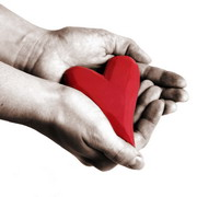 Photo: Heart in hands