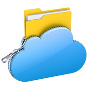 Photo: Cloud with file