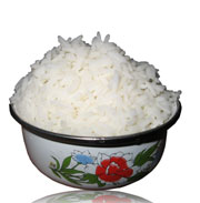 Picture: A bowl with rice