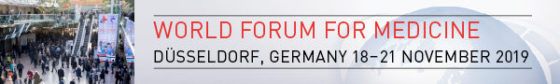 image: 18 - 21 November 2019, MEDICA - World Forum for Medicine in Düsseldorf