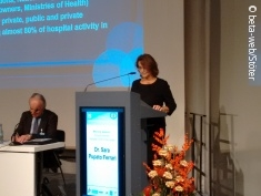 Photo: Dr Sara Pupato Ferrari at EHC 2015