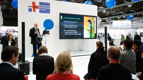 MEDICA CONNECTED HEALTHCARE FORUM in hall 15