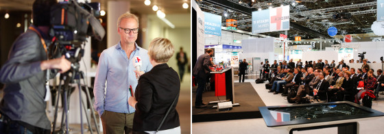 Conferences and forums MEDICA 2014