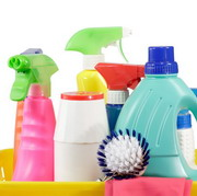 Photo: Cleaning agents