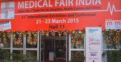 MEDICAL FAIR INDIA 2015 opening ceremony, New Delhi