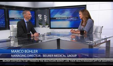"Beurer interviewed on ""Worldwide Business with kathy ireland®"""