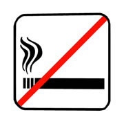 Photo: 'Do not smoke' sign