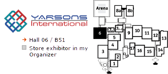 Yarsons International at Medica 2014. Hall 06/B51