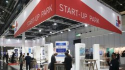 Image: MEDICA START-UP PARK; Copyright: Messe Düsseldorf/ctillmann
