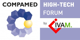 Image: Logo COMPAMED HIGHTECH FORUM by IVAM