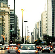 Picture: Cars in a city