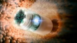 Image: Capsule for small intestine endoscopy; Copyright: Fraunhofer IZM I Volker Mai