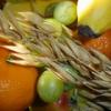 Photo: Apples, grapes and cereals