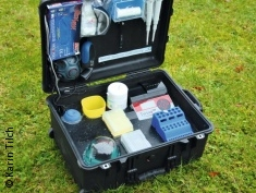 Photo: laboratory suitcase