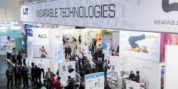 Image: Stand of Wearables Technologies; Copyright: Messe Düsseldorf