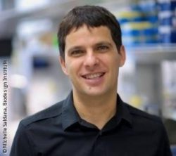 Image: a smiling dark haired man - Salvatore Oddo; Copyright: MIchelle Saldana, Biodesign Institute
