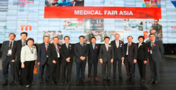 MEDICAL FAIR ASIA 2014 opening ceremony