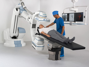 C-arm and operating table in perferct combination.