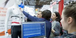 Image: Monitor with heart rate displayed; Copyright: Messe Düsseldorf