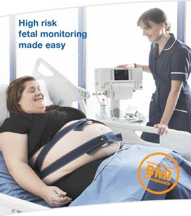 High Risk Fetal Monitoring Made Easy by SONICAID